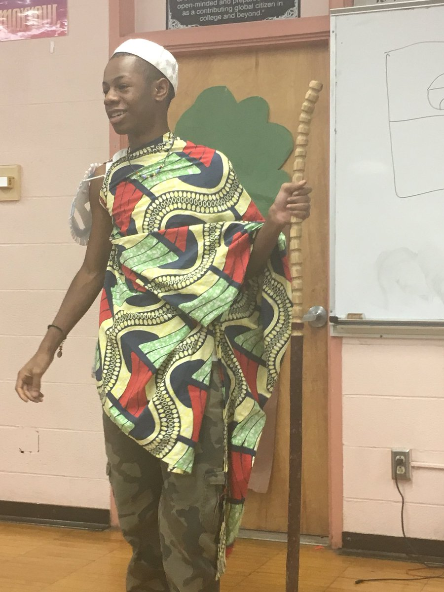 """test Twitter Media - RT @CAHSIntro: """"I am the griot. My tongue knows no lies."""" #CAHS #Folktale https://t.co/ZCWe1JYpH3"""