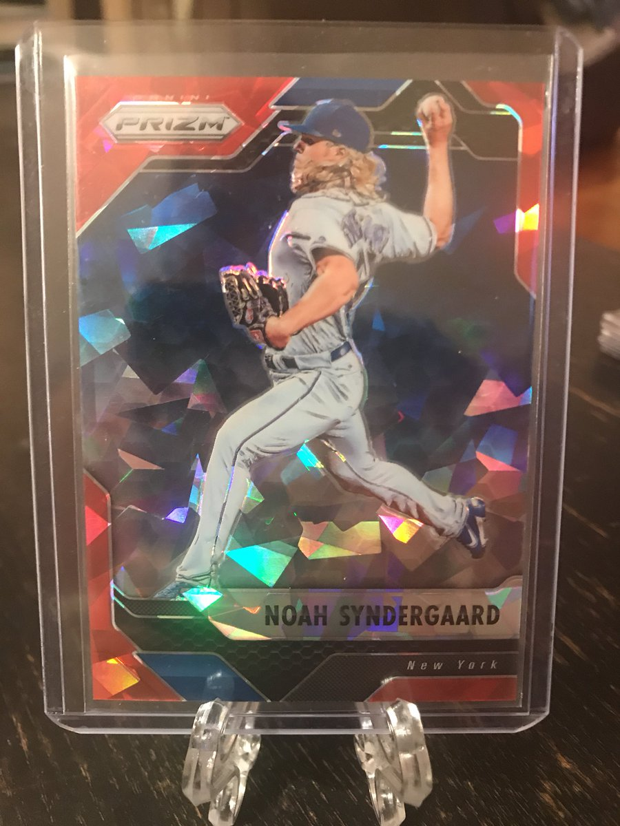 RT @cheapcardsales: Noah syndergaard red crystal Prizm /75.  $4    #cheapCards #ccsMets https://t.co/TDnOnVhR43