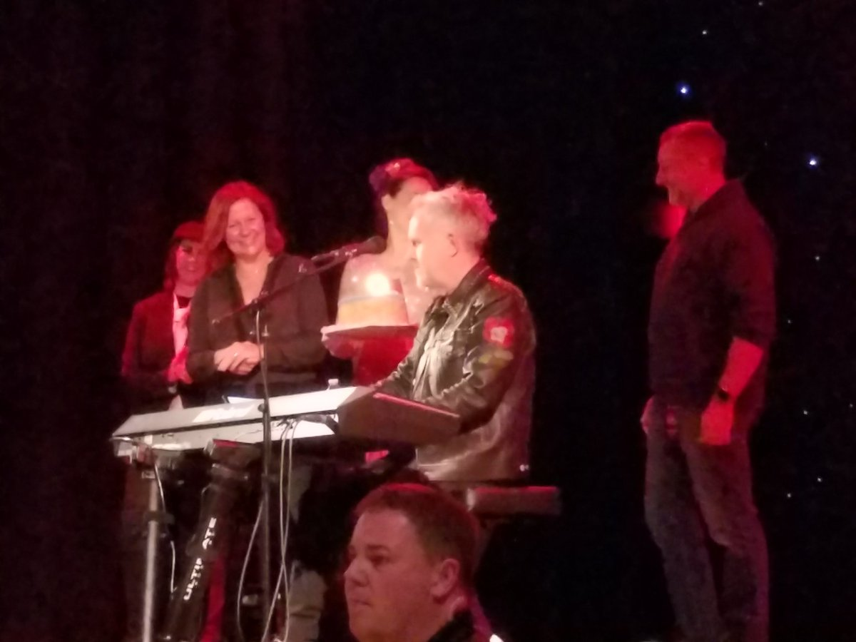 test Twitter Media - .@howardjones plays Happy Birthday for himself. Cheeky! But many happy returns, Howard. Great show. https://t.co/BrgFQbatxs