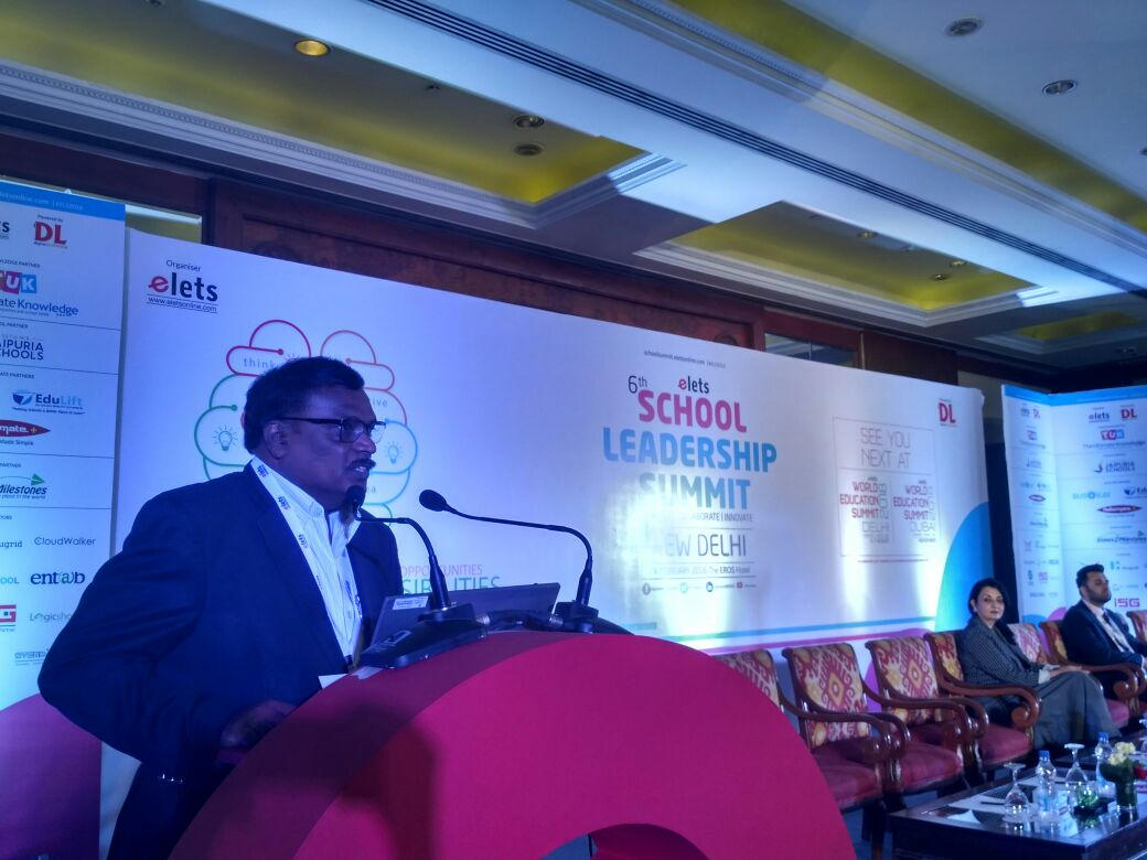 test Twitter Media - As a school leader, you should have PHD --- Passion for work, Hunger for competition and Discipline for commitment: Dr MVV Prasada Rao, Dir CTET, JNVST & Misc Exam, CBSE at #SLS2018 New Delhi. @CBSEWorld @RyanIntlGrp @Manjula_Pooja #EletsEducation https://t.co/4W7LvzIn7K