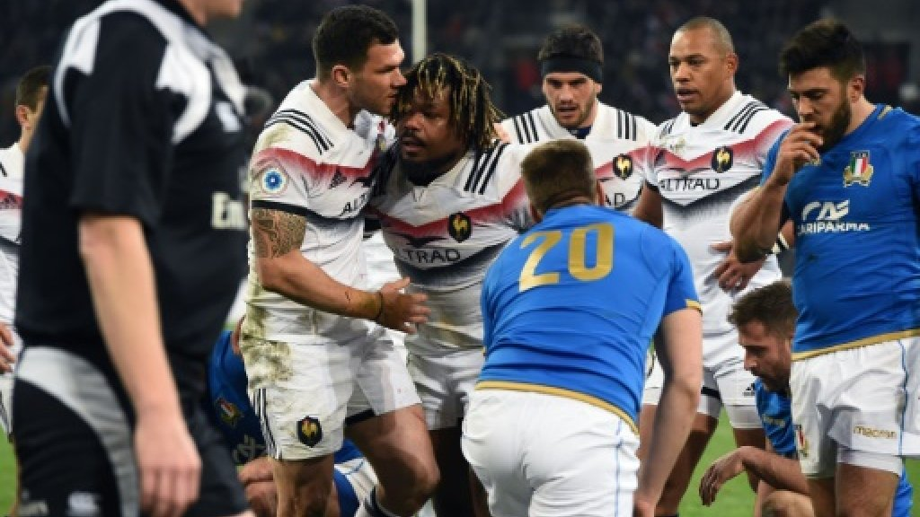 France beat Italy 34-17 in Six Nations