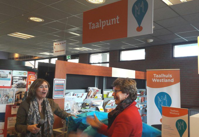 Spoedcursus Westlands bij opening Taalpunt https://t.co/EFc3z7STXH https://t.co/numKiaMX33