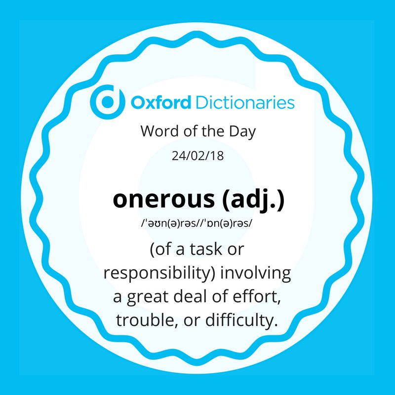test Twitter Media - Word of the Day:  onerous https://t.co/3t00ZmVOsk https://t.co/fV8AwkErx0