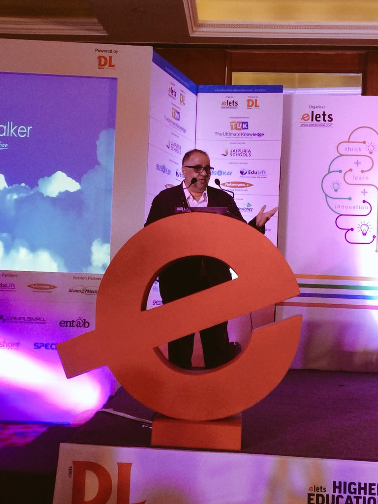 test Twitter Media - Industry Presentation by Jagdish Rajpurohit, Director, Cloud Walker @CloudWalker_TV at #SLS2018. #EletsEducation . https://t.co/Gu1zmQIQZa