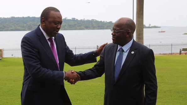 JPM, Uhuru keen on ending trade dispute