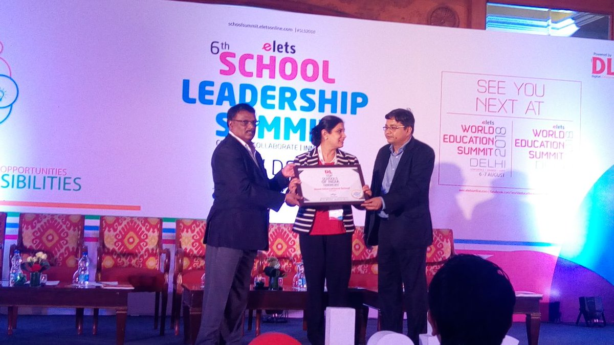 test Twitter Media - Award & Felicitation ceremony showcasing the excellence in the field of education, commencing at #SLS2018 #eletsEducation https://t.co/DdYoE5QcxQ