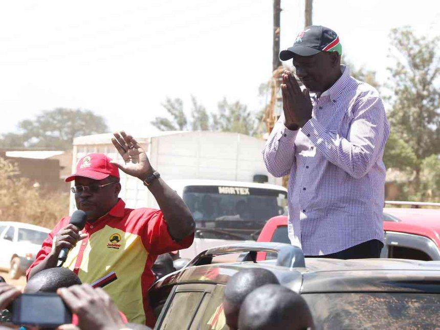 Mt Elgon awaits Ruto's firm orders against violence as tour begins