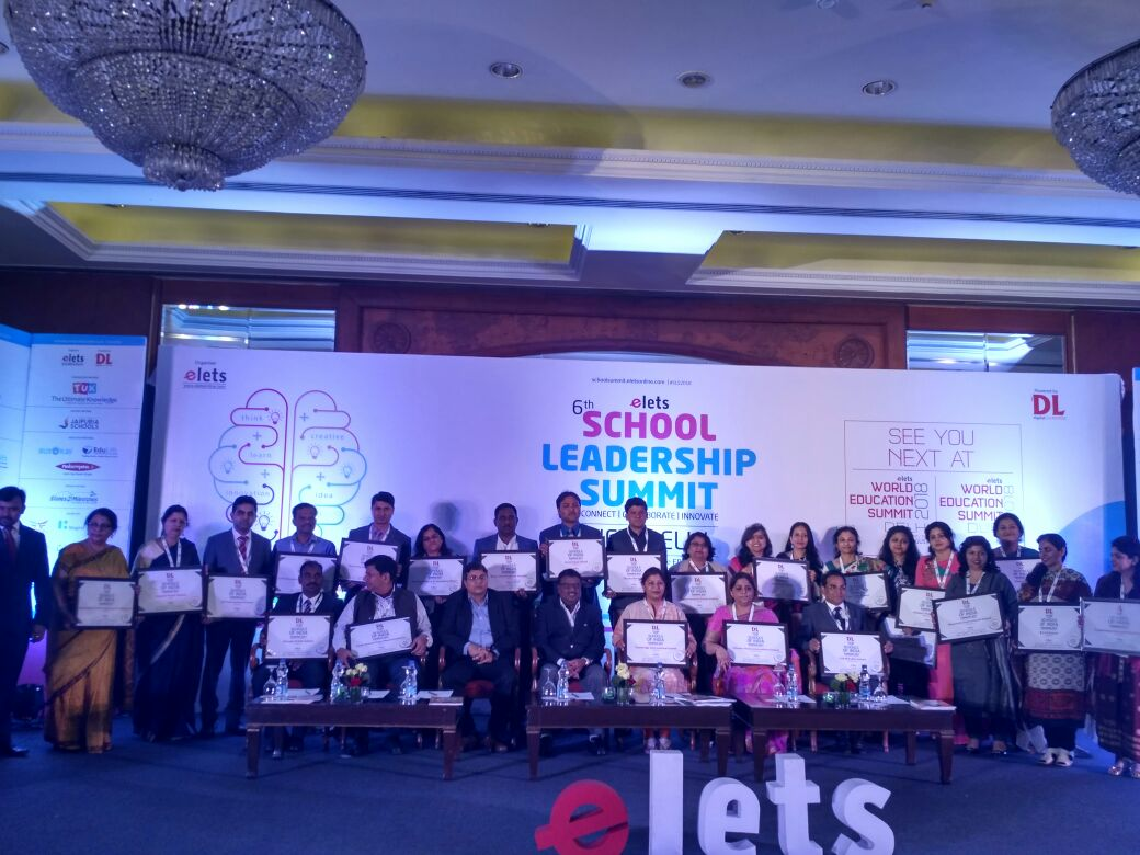 test Twitter Media - Award winners felicitated for their exemplary contributions in the field of education.#SLS2018 #eletsEducation https://t.co/2ENoG68nNz
