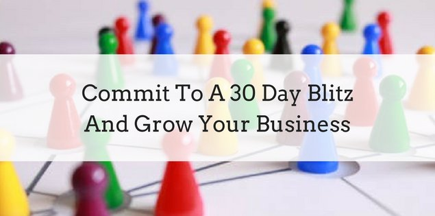 Ready to grow you business? Commit to a 30 Day Blitz https://t.co/eiyl7oWkyw #homebusiness #mlmtips https://t.co/grDHS1SQPG
