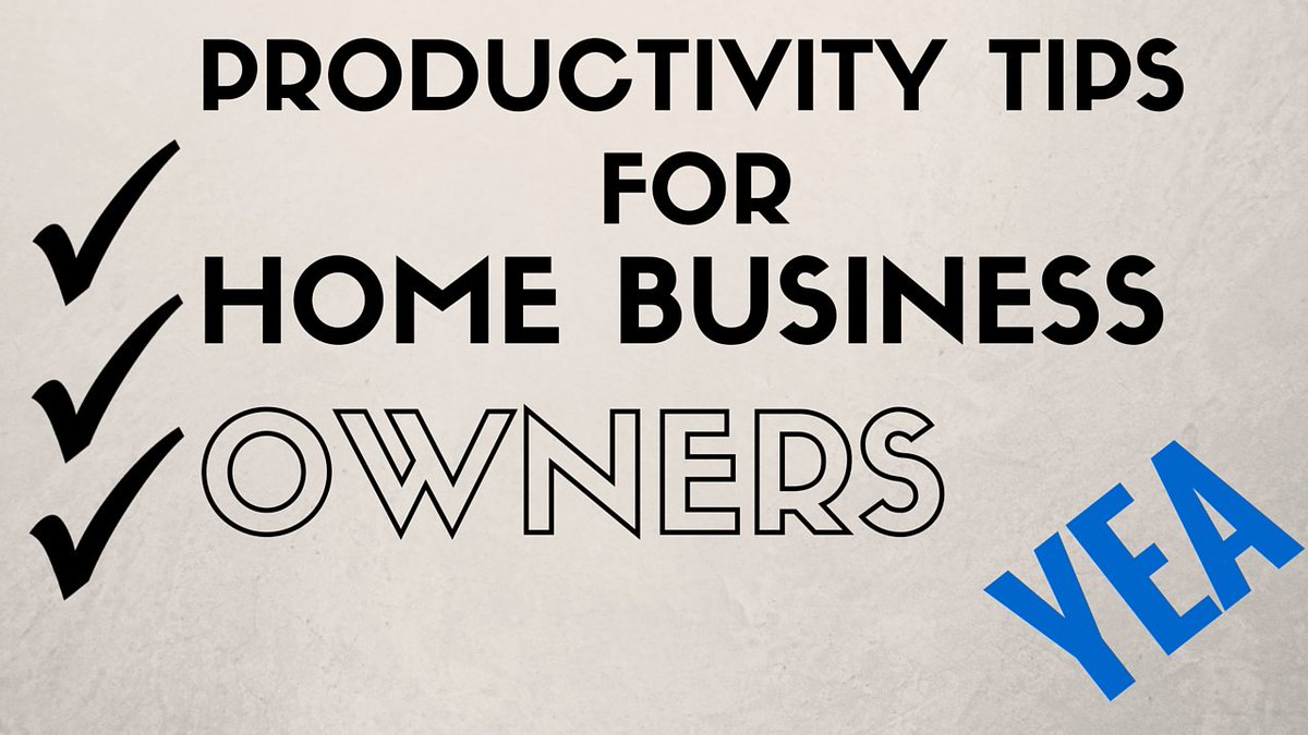 Learn 2 Productive Tips For Home Business Owners. https://t.co/o07wHRkdCg #productivity #marketing #homebusiness https://t.co/u7kLdwzhsF