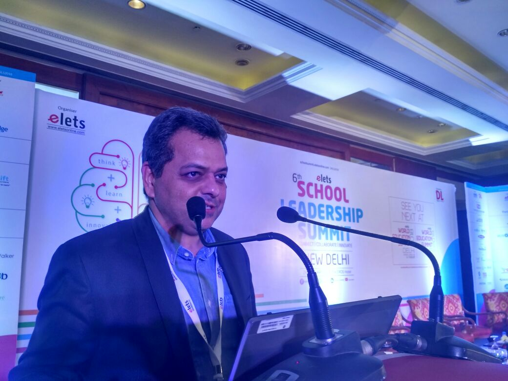 test Twitter Media - Technology Presentation I @SanjeevBajaj4, Director, Alba Smart Automation Pvt Ltd shares his expertise on the significance of monitoring systems in Schools. #SLS2018 #eletsEducation https://t.co/As4uQ1NBEn