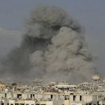 Airstrikes on suburbs of Syrian capital claim move lives