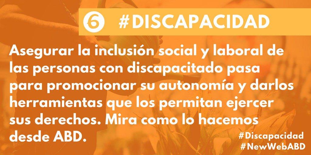 provar Twitter Mitjans - ✅💪Una nueva web centrada en nuestras causas. Una respuesta global a la fragilidad. #Discapacidad #SextaCausa #NewWebABD https://t.co/NykFIdfYw7