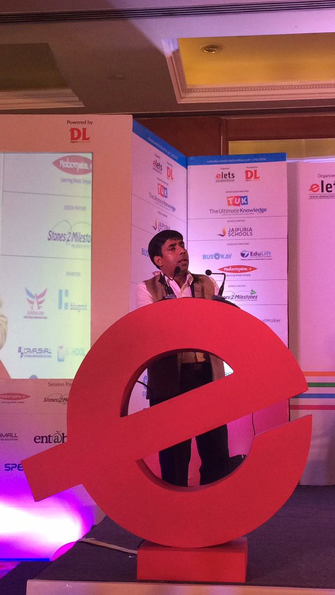 "test Twitter Media - Dr Biswajit Saha, Director-Vocational and Training, @CBSEWorld sharing his views on ""Skill Traning of Youths & Teachers' Training"" at #SLS2018 #eletsEducation https://t.co/1OGHikrs4k"