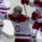 Ohio State hockey beats Michigan 3-2 in overtime to advance to Big Ten championship
