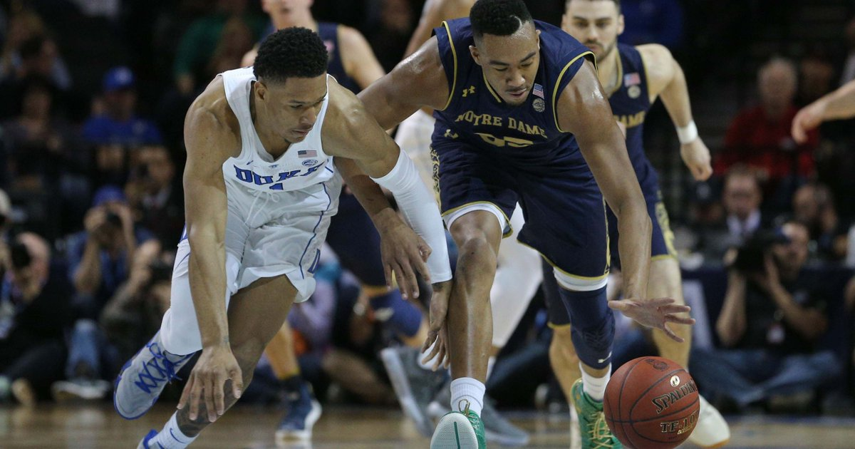 Notre Dame falls to Duke in ACC tournament