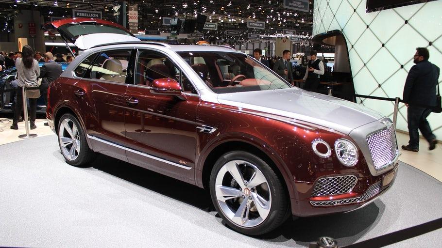 Bentley's Bentayga V6 hybrid is its greenest vehicle yet