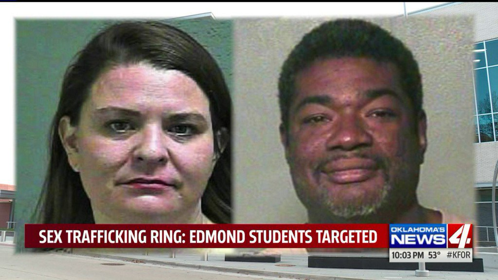 Police looking for couple allegedly targeting Edmond students for prostitution ring