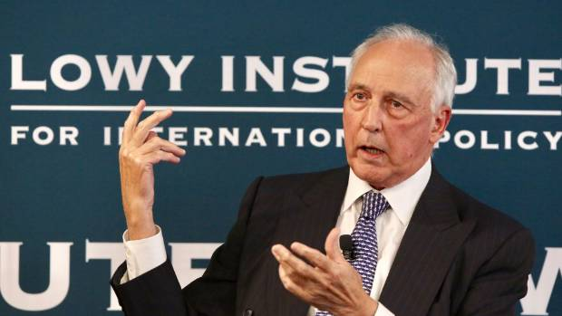 Ex-Aussie PM Paul Keating praises Trump as 'surprisingly good' at foreign policy