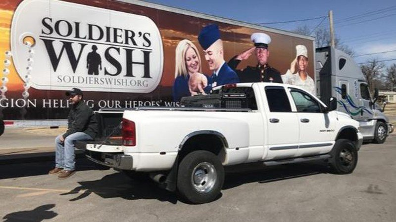 Army vet given truck to replace on that was stolen