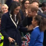 Prince Harry and Meghan Markle made one aspiring actress's day