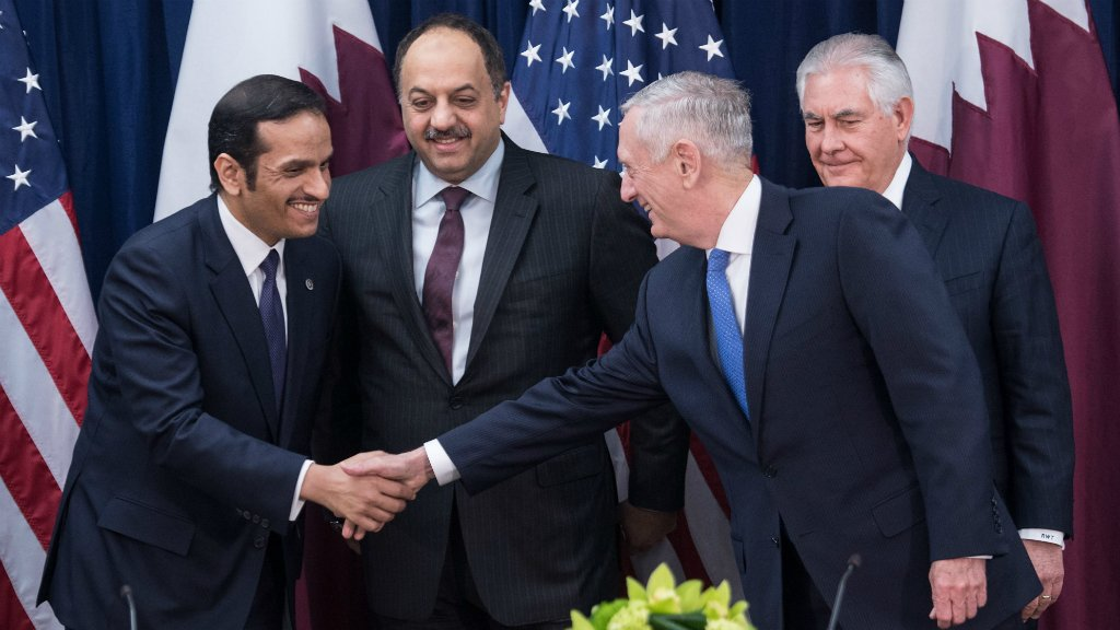 US agrees to upgrade Qatari air defences despite Gulf crisis