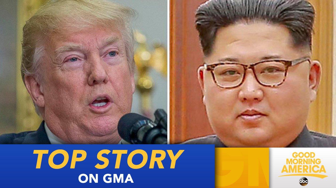 TOP STORY: Trump has agreed to meet with North Korean leader Kim Jong Un: https://t.co/bAuwPk8dp4 https://t.co/YwkkDUlDu2
