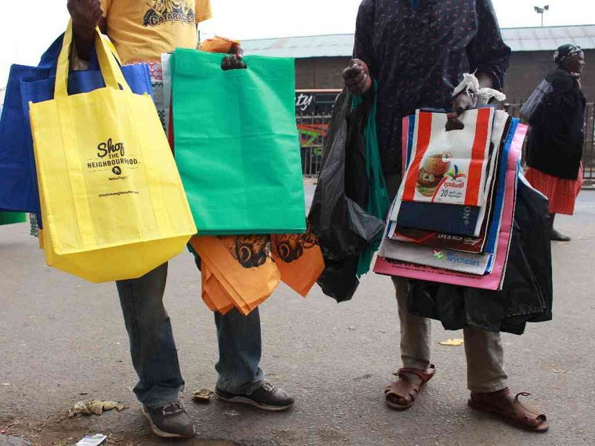 Nema arrests three in Bungoma for using banned plastic bags