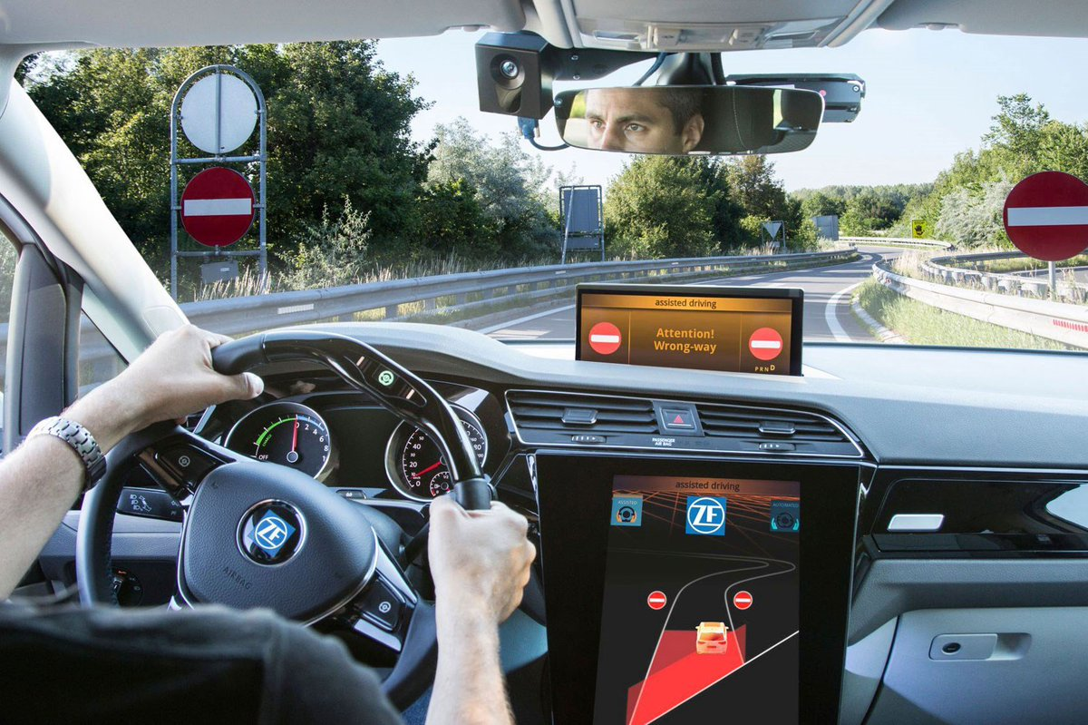 Does it work? The car that won't let you go the wrong way