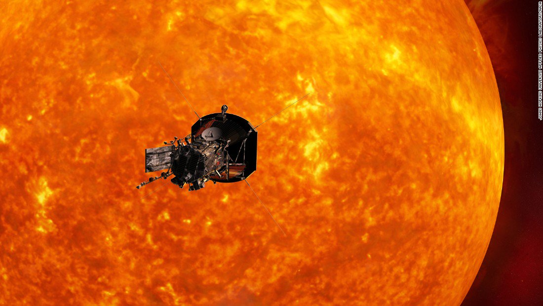 You can ride along with NASA on its mission to the sun .... sort of