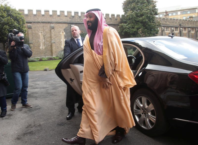 Talks turn to defence and arms sales on final day of Saudi Crown Prince's UK visit