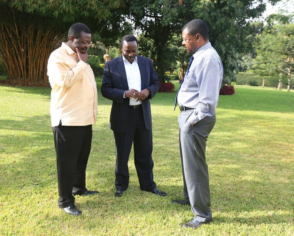 Kalonzo, Mudavadi, Wetangula disown Raila's reconciliation talks with Uhuru