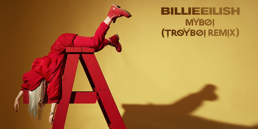 .@BillieEilish drops the @TroyBoiMusic remix of her song #MyBoy https://t.co/CWuZNluuVN https://t.co/fhbYUcjpEV