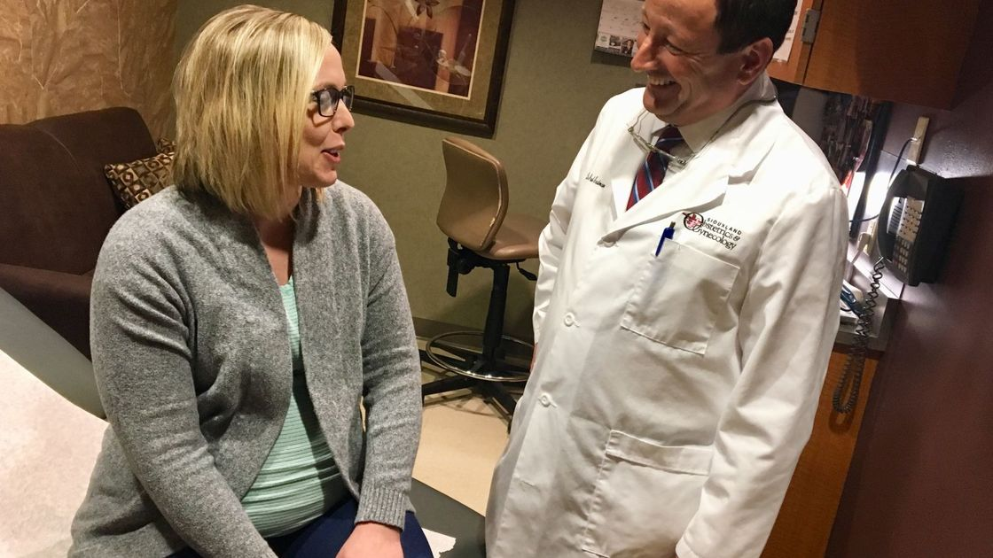 Vaginal birth after C-section is now a delivery option in Sioux City