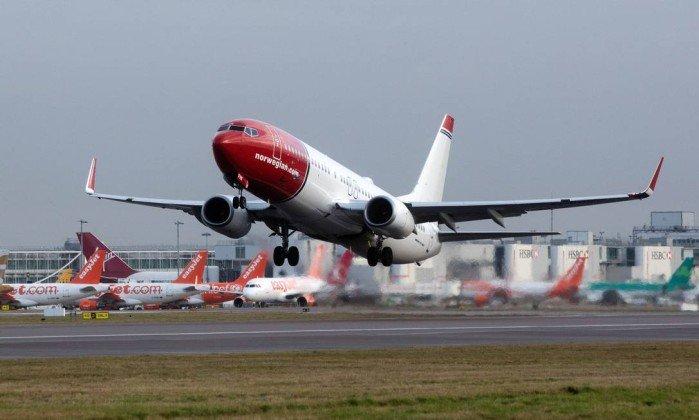 Companhia aérea da Noruega planeja voos de baixo custo do Brasil para Argentina e Europa