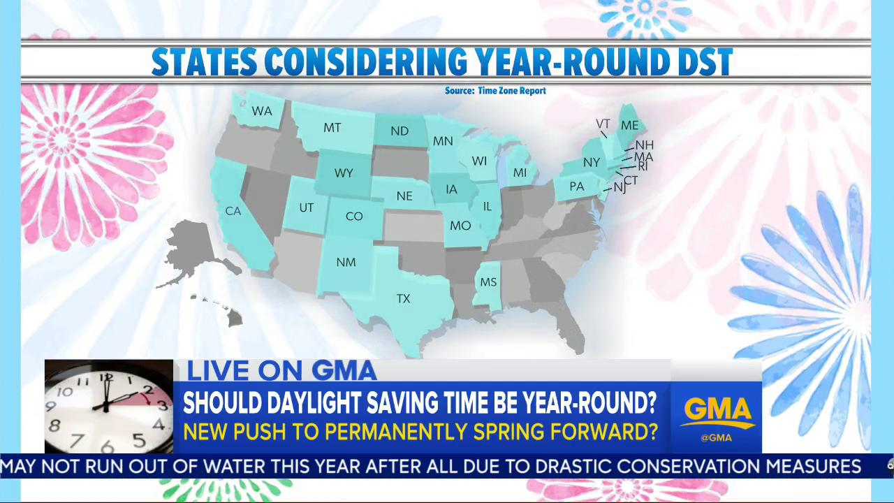A permanent spring forward? Should Daylight Saving Time be year-round? https://t.co/WIc2ExjISa
