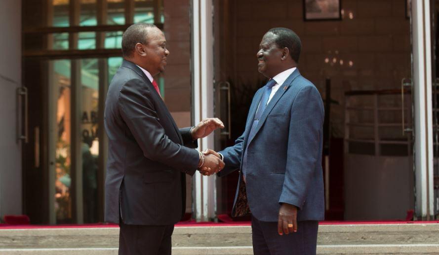 President Kenyatta, NASA leader resolve to work together and unite Kenyans