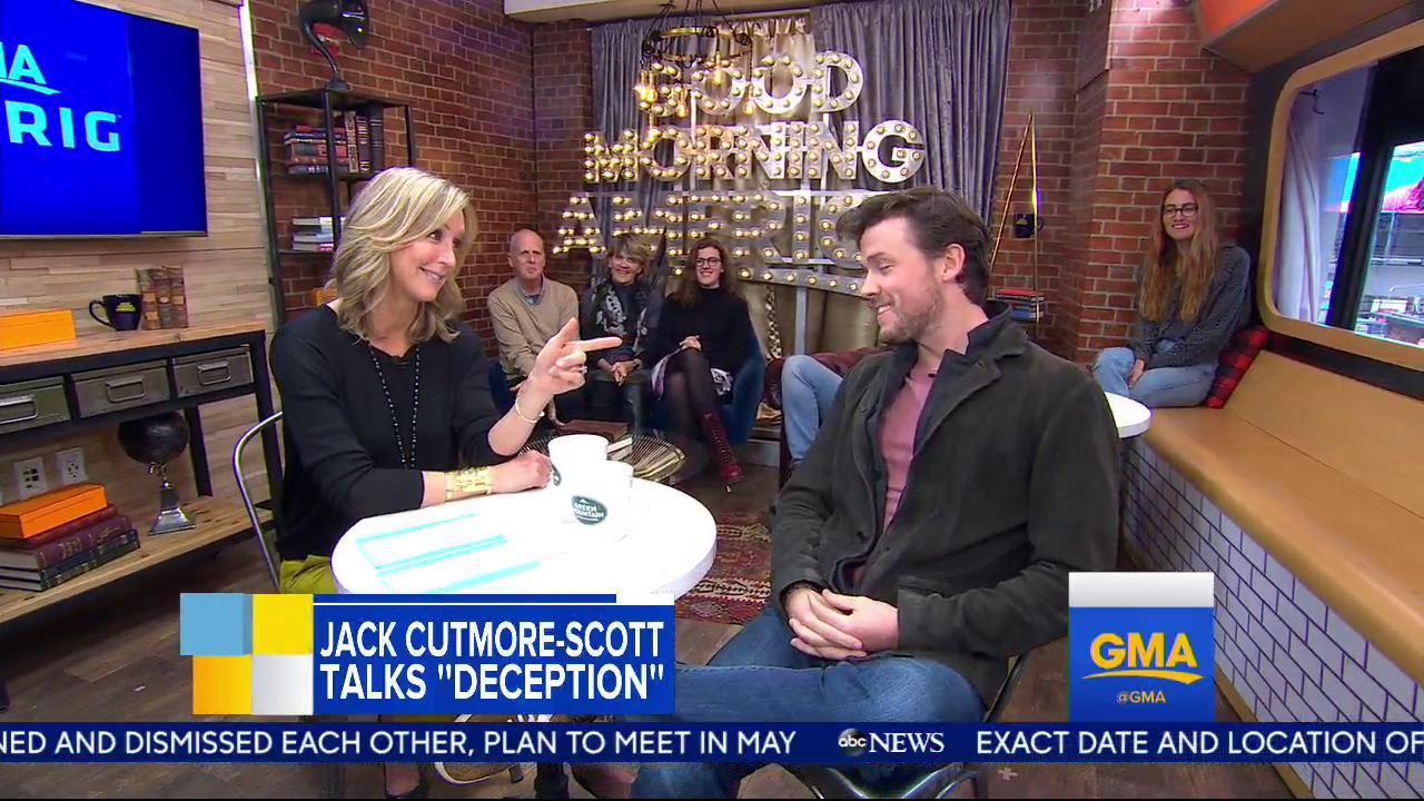 Jack Cutmore-Scott is here talking his new show @DeceptionABC! https://t.co/9QBOJA1wJZ