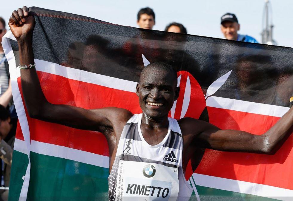 World record holder Kimetto plots marathon comeback in Boston