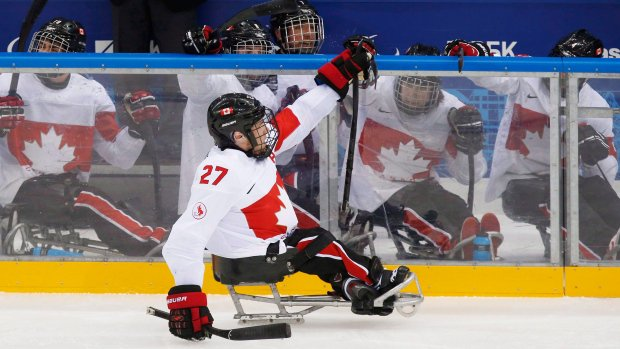 Sledge hockey star Brad Bowden credits his late grandparents for his career