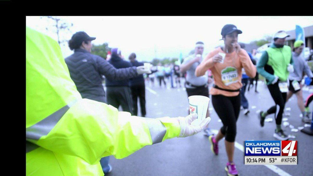 Tips on staying hydrated for the Oklahoma City MemorialMarathon