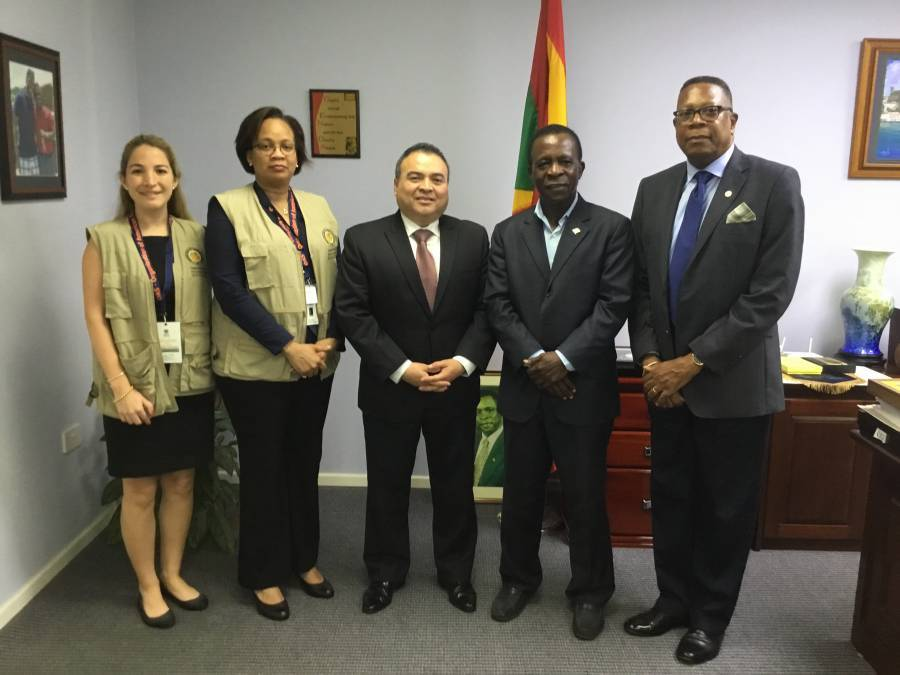 Prime Minister meets with OAS and CARICOM Observer Missions