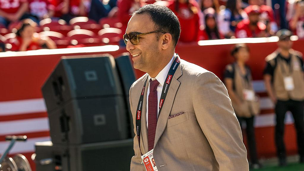 Paraag Marathe named President of 49ers Enterprises: https://t.co/A0Zm0Vh00G https://t.co/SK2avPdKlf