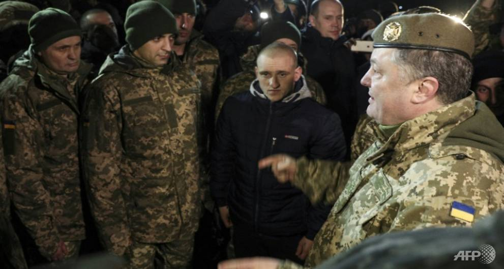 Ukraine negotiator charged over plot to kill Poroshenko