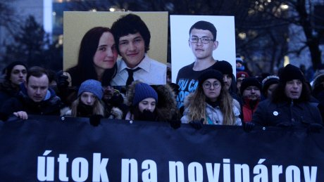Slovakia's government on defensive after journalist's killing