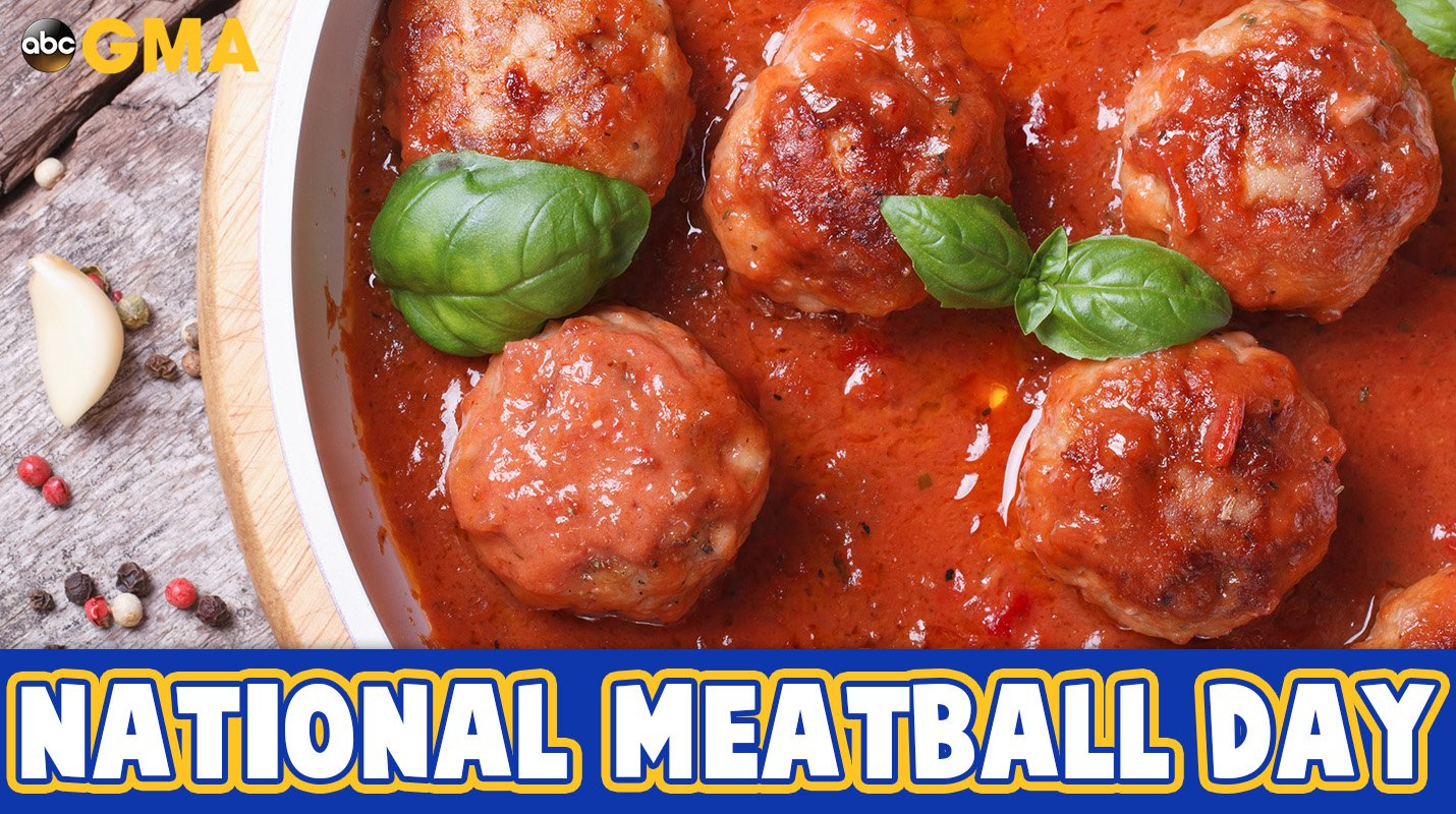 Happy #NationalMeatballDay! https://t.co/8pv35vcUB2