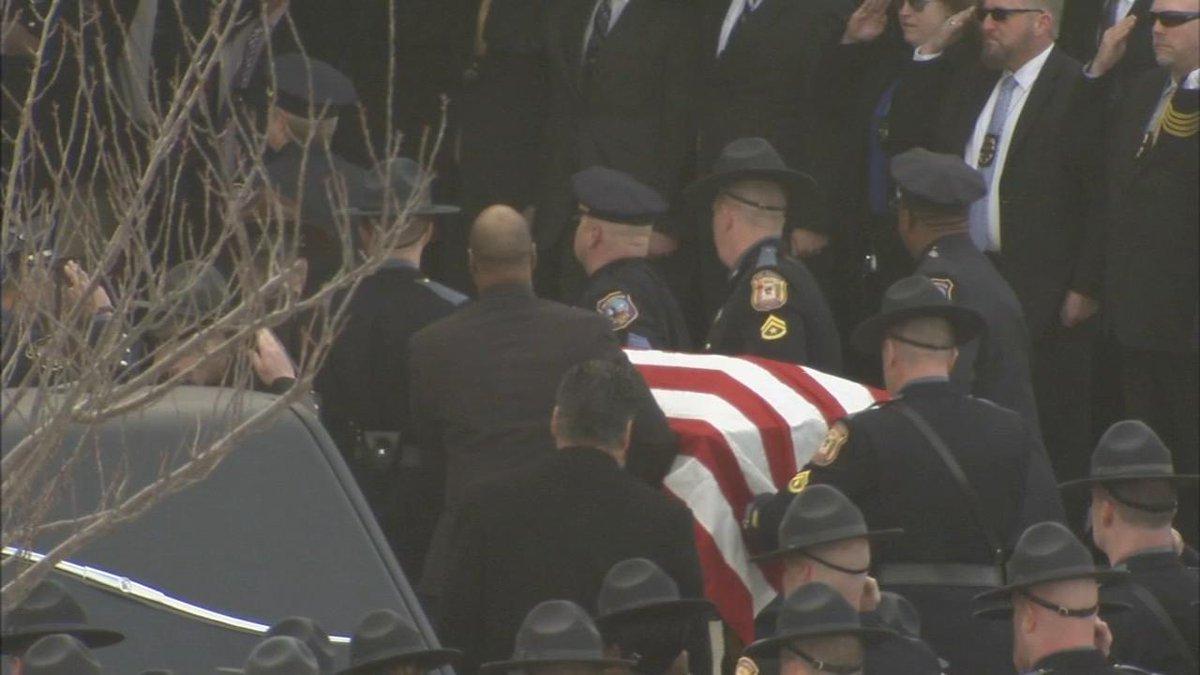 Memorial service held in Delaware for Wilmington Police captain