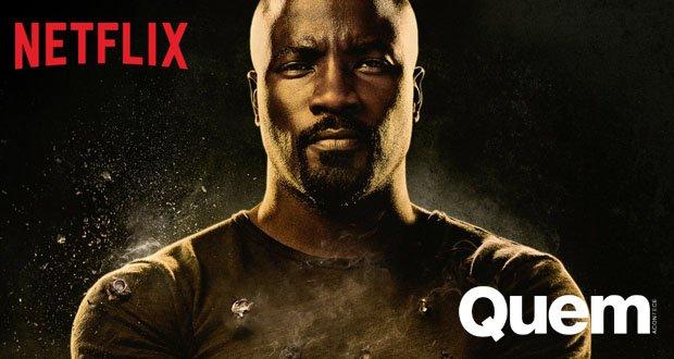 Saiba Serie. Foto do site da Quem Acontece que mostra Luke Cage: Saiba tudo sobre a segunda temporada da série da Netflix
