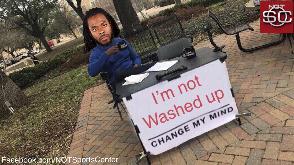Richard Sherman, after being released: https://t.co/jIT48ycwM5