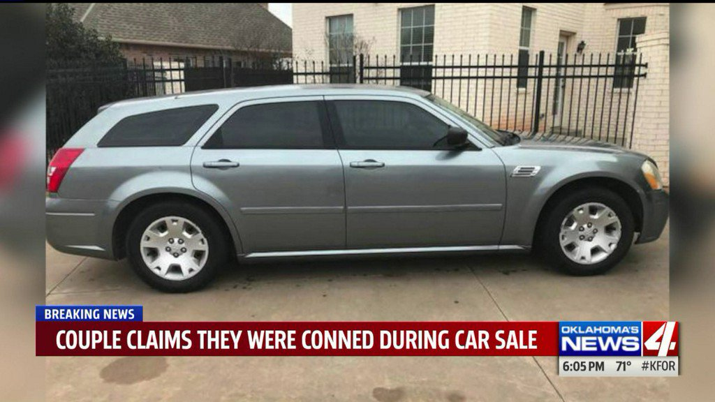 Metro couple says they were conned into buying badcar